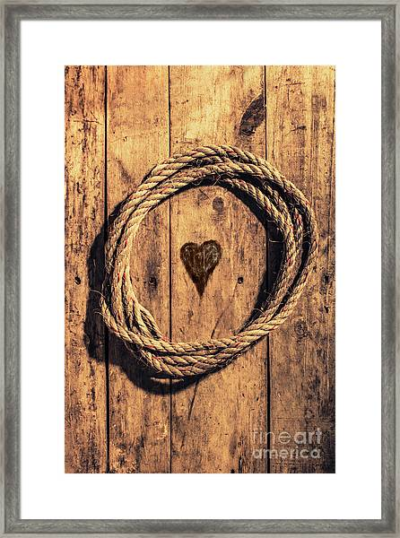 Love Of The Sea  Framed Print