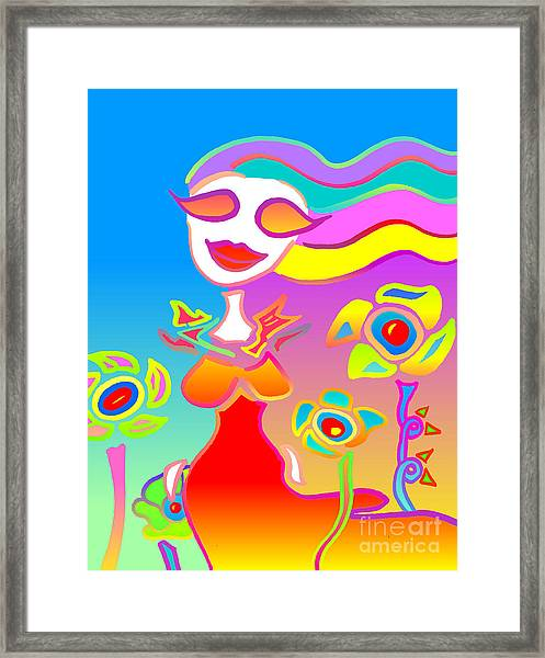 Love Will Blossom Framed Print by John Pescoran