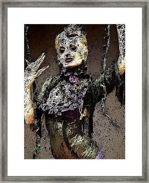 Lovely Agony Framed Print