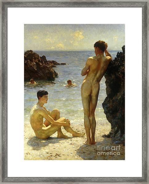 Lovers Of The Sun Framed Print