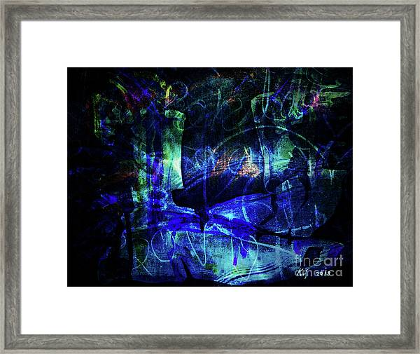 Lovers-1 Framed Print
