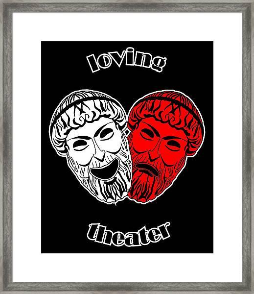 Loving Theater Framed Print