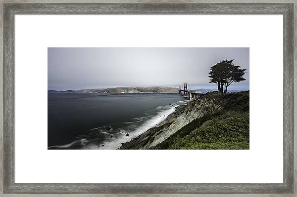 Low Cloud Framed Print