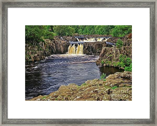 Low Force Waterfall, Teesdale, North Pennines Framed Print