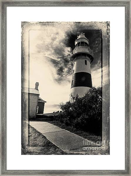 Low Head Lighthouse Framed Print