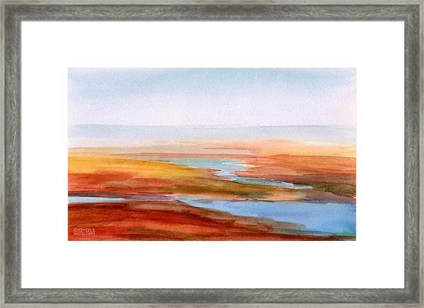 Low Tide Cape Cod Framed Print