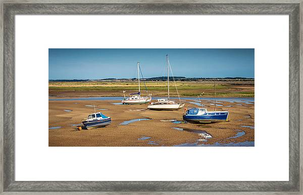 Framed Print featuring the photograph Low Tide by Nick Bywater
