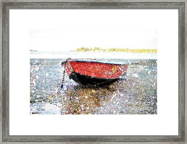 Low Tide's Rest Framed Print
