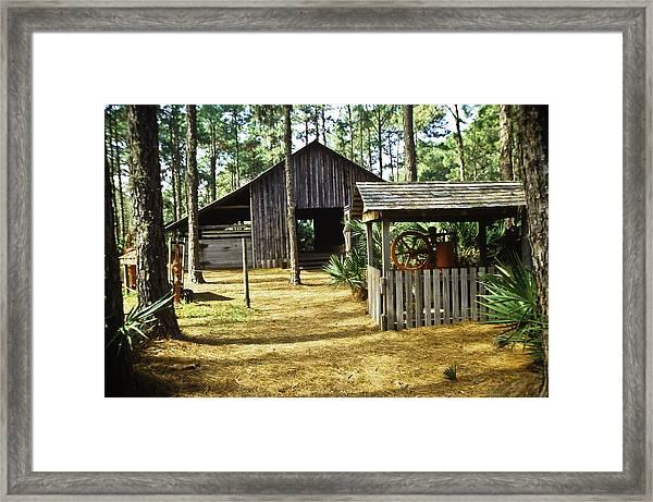 Lowe Barn Framed Print