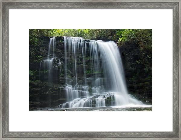Lower Bearwallow Falls Framed Print