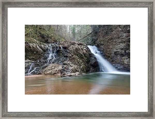 Lower Brasstown Falls Framed Print