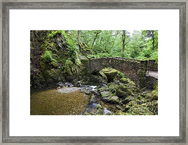 Lower Bridge. Aira Force. Framed Print