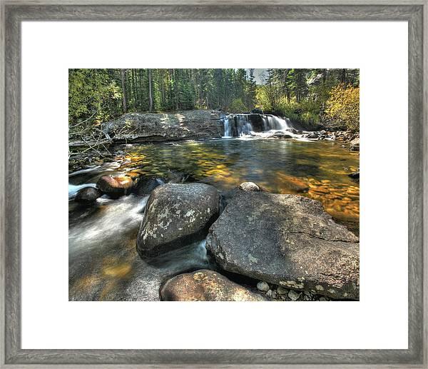 Lower Copeland Falls Framed Print