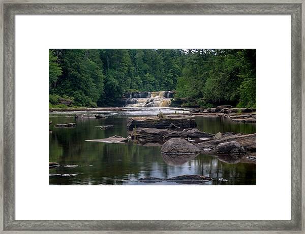 Lower Tahquamenon Falls Framed Print