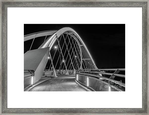 Lowry Avenue Bridge Framed Print