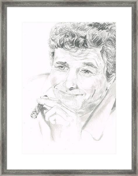 Lt. Columbo Framed Print