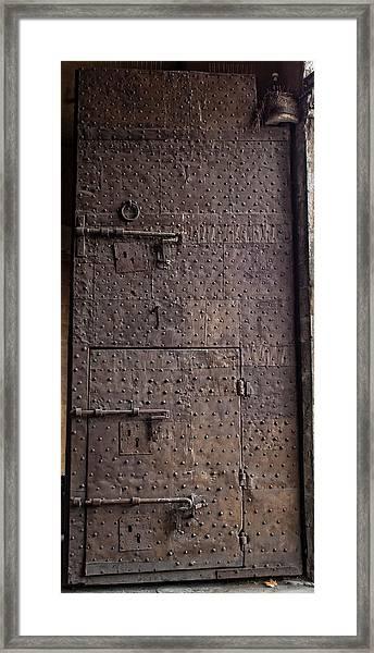 Lucca Portal Framed Print