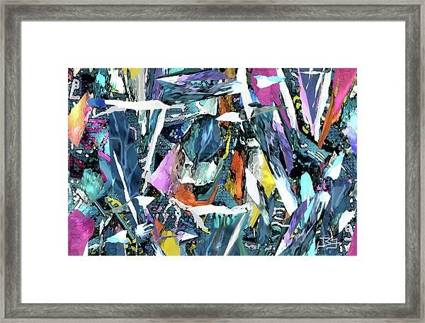 Lucky Sevens Framed Print