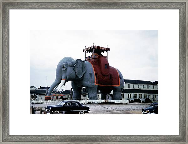 Lucy The Elephant 2 Framed Print