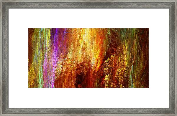 Luminous - Abstract Art Framed Print
