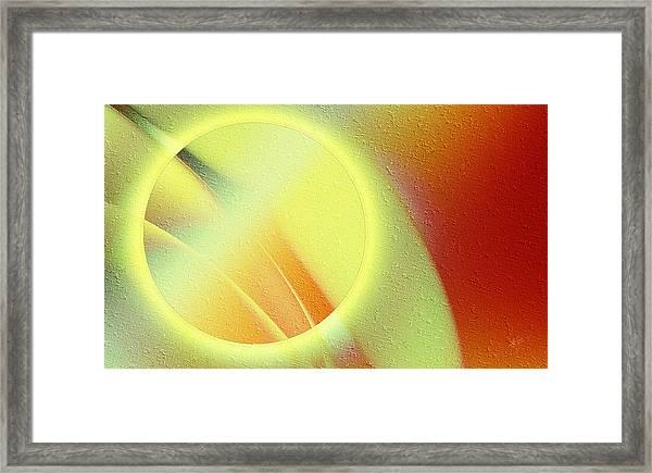 Luna Creciente Framed Print