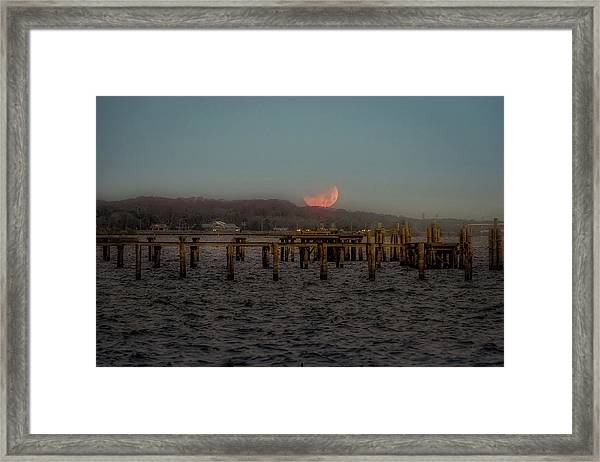 Lunar Eclispe  Framed Print