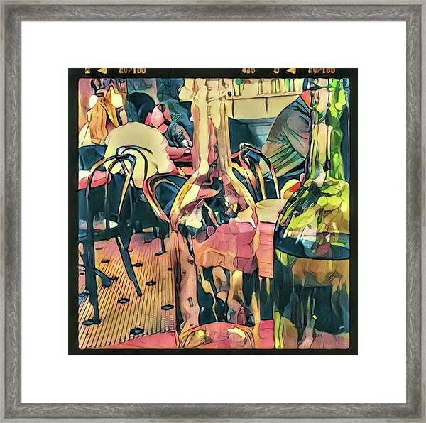 Lunch At Smiths Framed Print