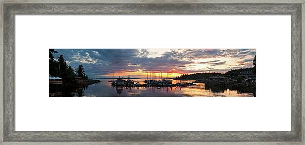 Lund, British Columbia Framed Print