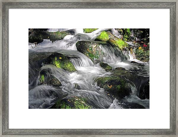 Lundy Creek 2 Framed Print