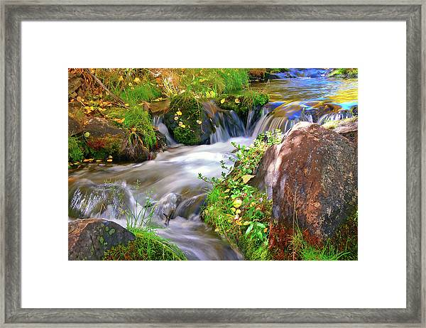 Lundy Creek Framed Print