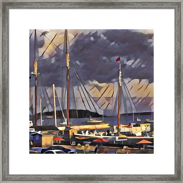 Lunenberg Framed Print