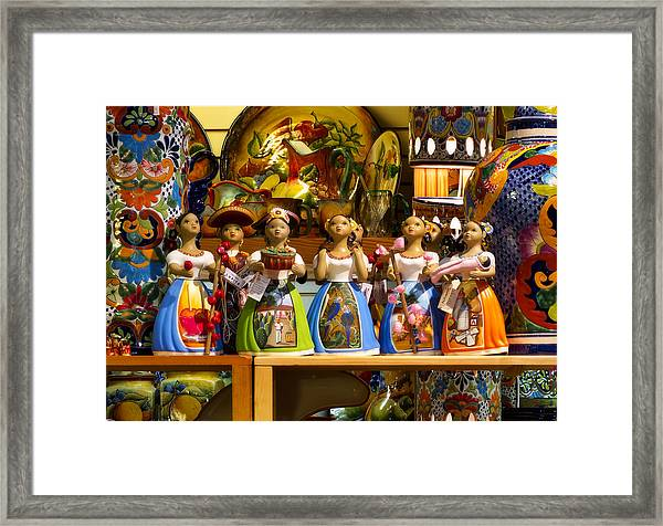 Lupitas Framed Print
