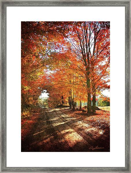 Lupton Road Framed Print