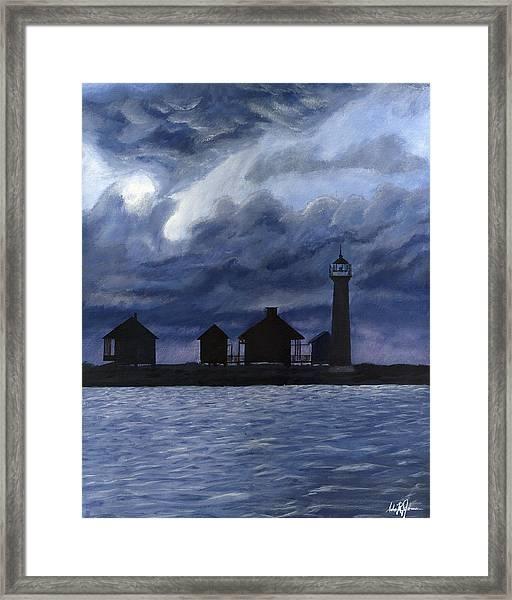 Lydia Ann Lighthouse Framed Print