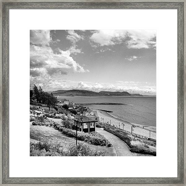 Lyme Regis And Lyme Bay, Dorset Framed Print