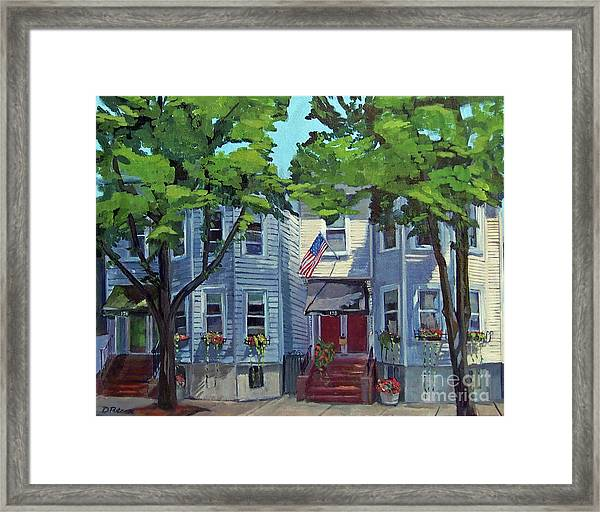 M St Afternoon Framed Print