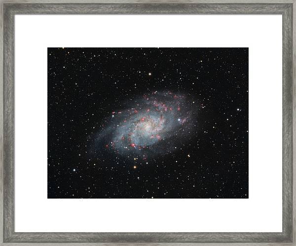 M33 - Triangulum Framed Print