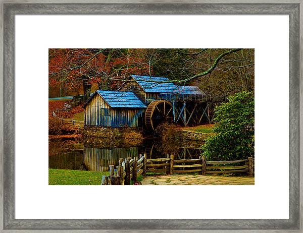 Mabry Mill II Framed Print