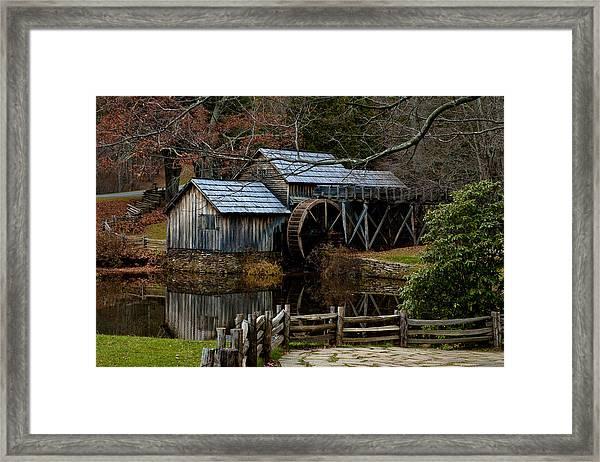 Mabry Mill IIi Framed Print