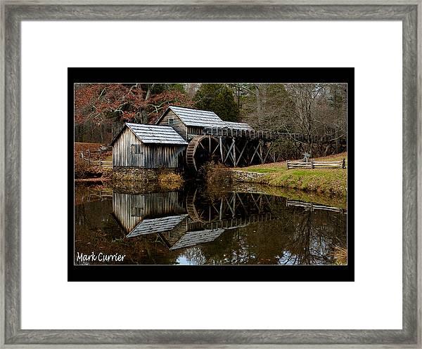 Mabry Mill Iv Framed Print