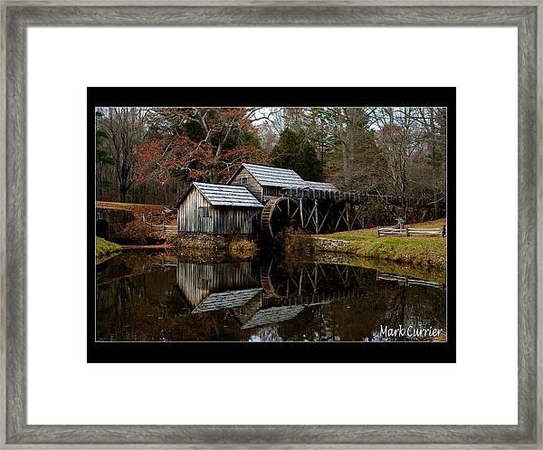 Mabry Mill V Framed Print