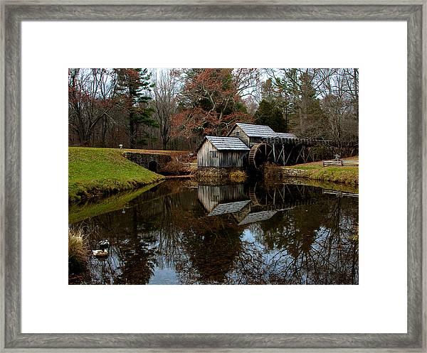 Mabry Mill Vi Framed Print
