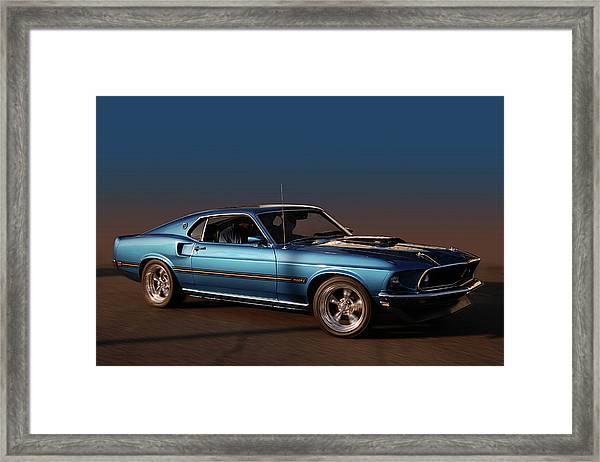 Mach 1 Framed Print