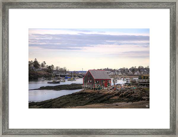 Mackerel Cove Framed Print