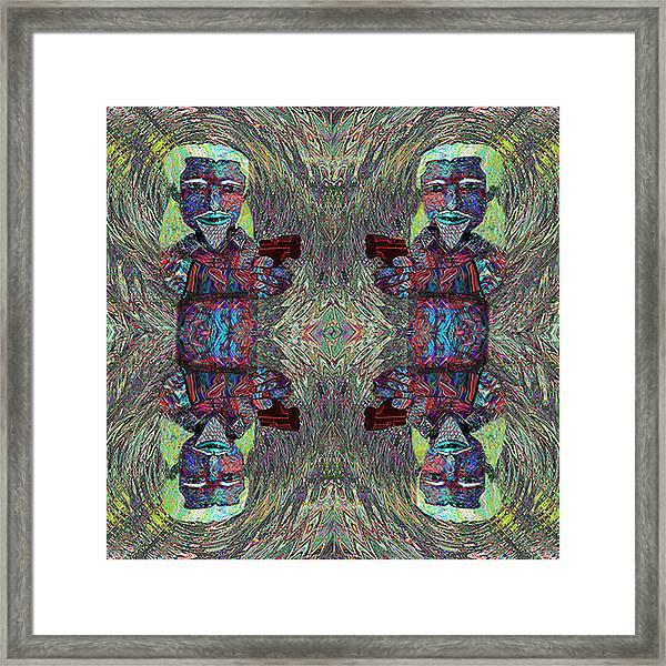 Mad  Cmtm II Framed Print