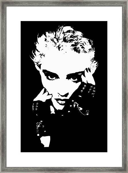 Mad Donna Framed Print