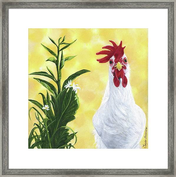 Madame Rouge Framed Print