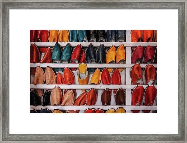 Framed Print featuring the photograph Madas by Martin Adams