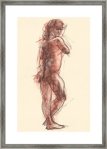 Madeleine Framed Print
