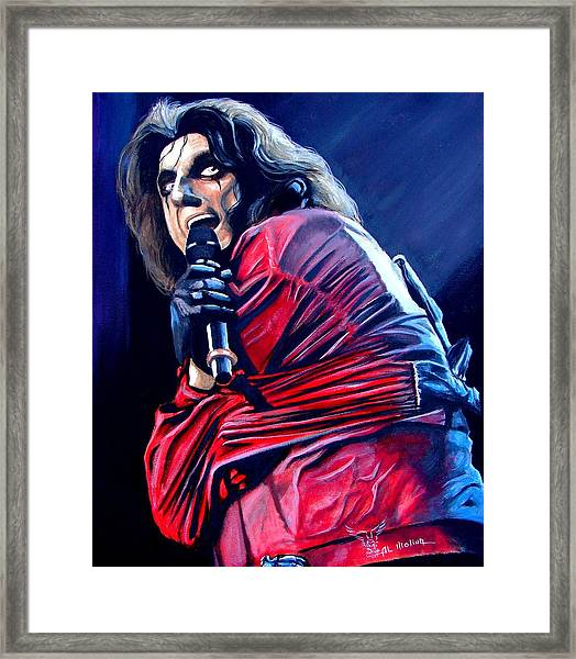 Madman Alice II Framed Print